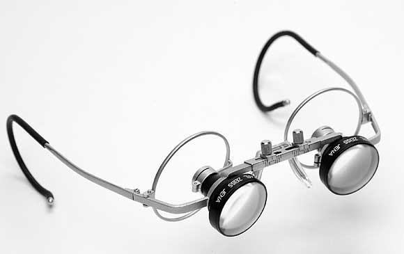 hell im Glanz wie man serch Luxus kaufen Lupenbrille 2,3 Carl Zeiss Jena, d-cent Vertriebs GmbH